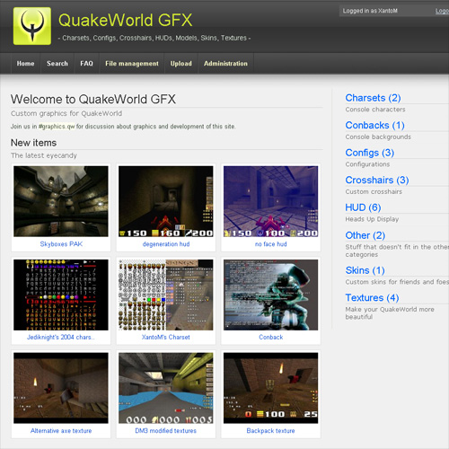 QuakeWorld GFX Screenshot